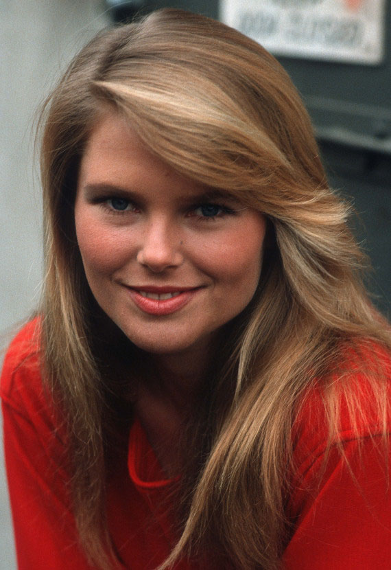 Christie Brinkley Young | LONG HAIRSTYLES