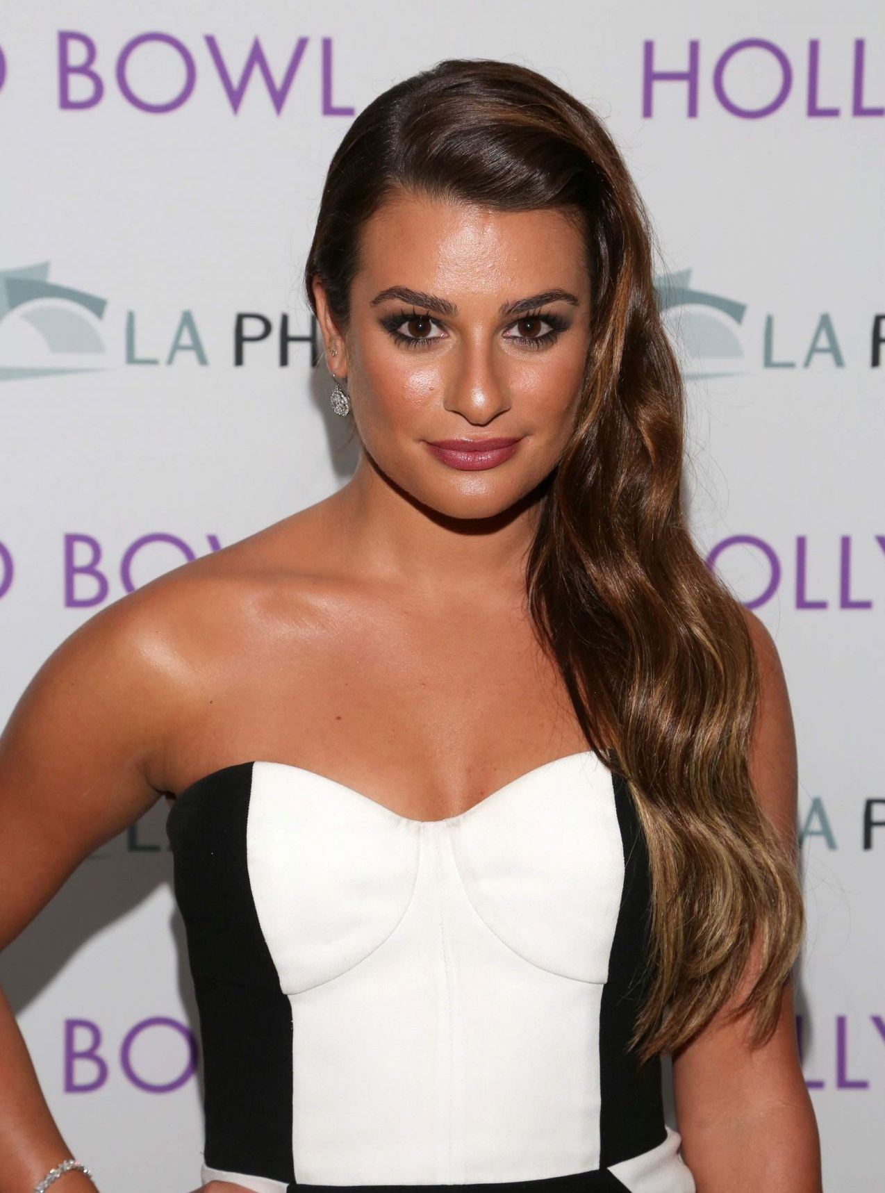 Lea Michele Before Breast Enhancement