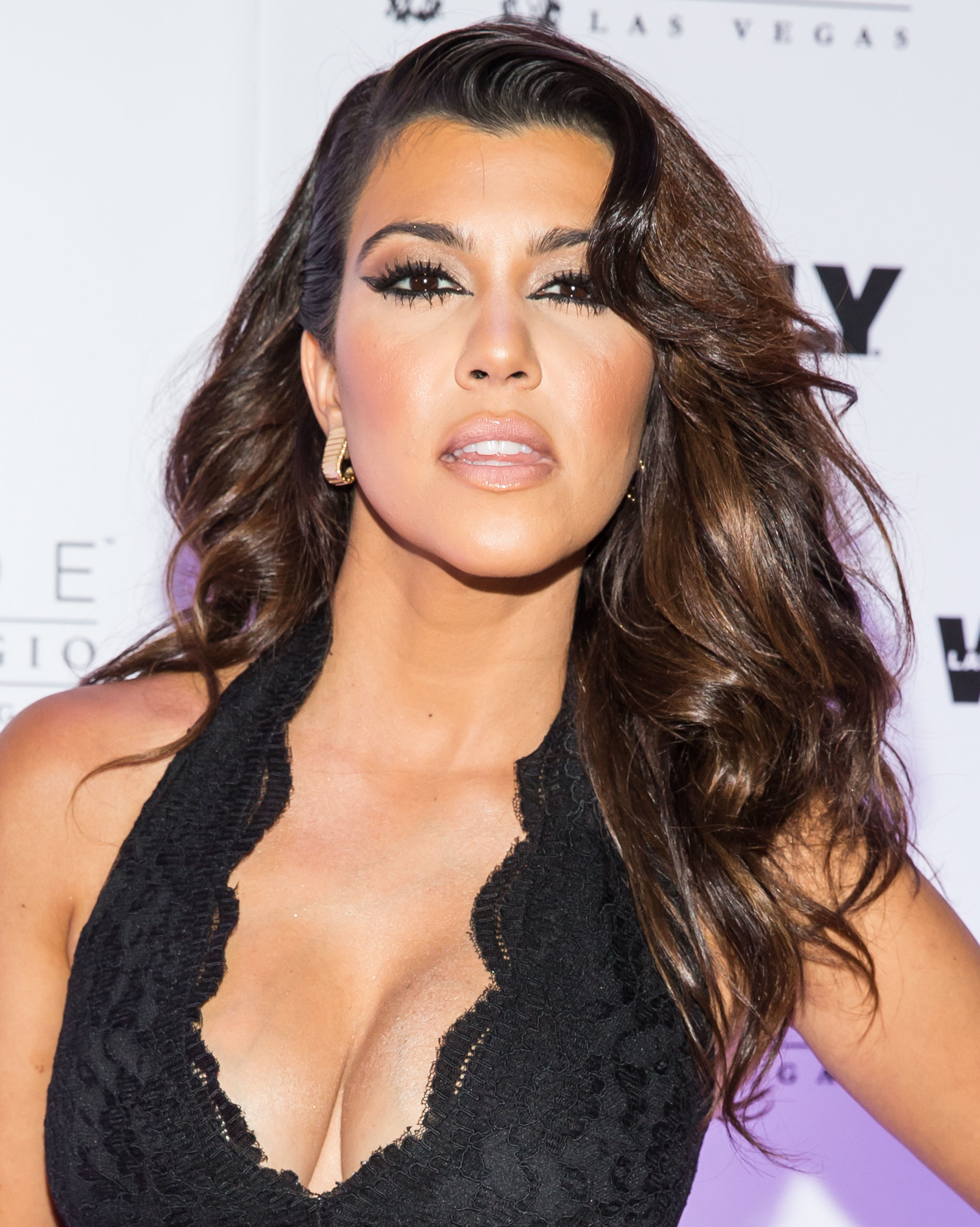 Kourtney Kardashian Boob Job Surgery Vip