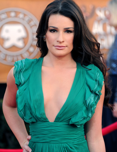 Lea Michele Before Breast Enhancement